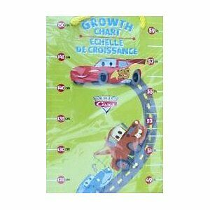Cars 1st Growth Chart Measures Childs Height Up to 59