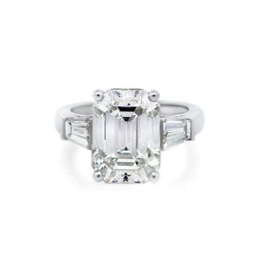 cartier platinum 7 20ct h vs2 emerald cut