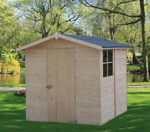 Casetta in di legno 216x233 15 mm casette box da giardino - Casette porta attrezzi da giardino ...