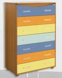 Cassettiera camera letto camerette camere moderno cassettiere settimini mobili ebay - Cassettiera camera letto ...
