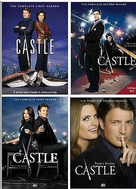 CASTLE Seasons 1-4 on DVD The Complete Seasons 1,2,3,4 NEW/FREE SHIPPING! in DVDs & Movies, DVDs & Blu-ray Discs | eBay