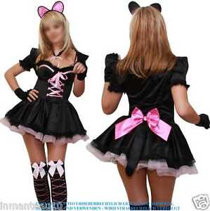 CAT-KATZE-KITTY-FASCHING-KARNEVAL-DAMEN-SEXY-KOSTUM-S-M-L-XL-XXL-36-38-40-42-44
