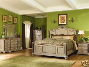King Bedroom Sets on Traditional Marble Queen King Mansion Bedroom Set New Furniture   Ebay