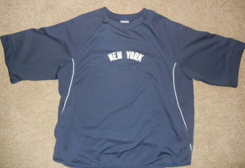 CC Sabathia 2012 Team Issued NY Yankees Short Sleeve Fleece - Size 4XL- STEINER in Sports Mem, Cards & Fan Shop, Game Used Memorabilia, Baseball-MLB | eBay