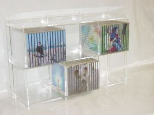 cd regal aus acryl plexiglas ebay. Black Bedroom Furniture Sets. Home Design Ideas