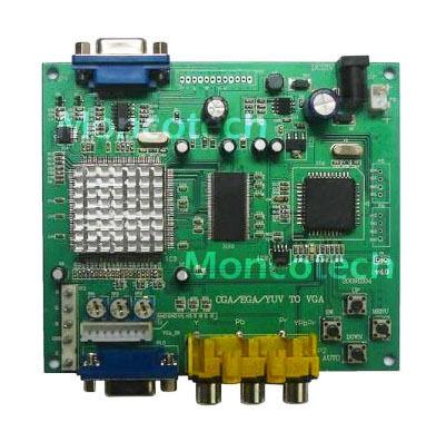 CGA/EGA/YUV TO VGA arcade video converter *US Seller* in Collectibles, Arcade, Jukeboxes & Pinball, Arcade Gaming | eBay
