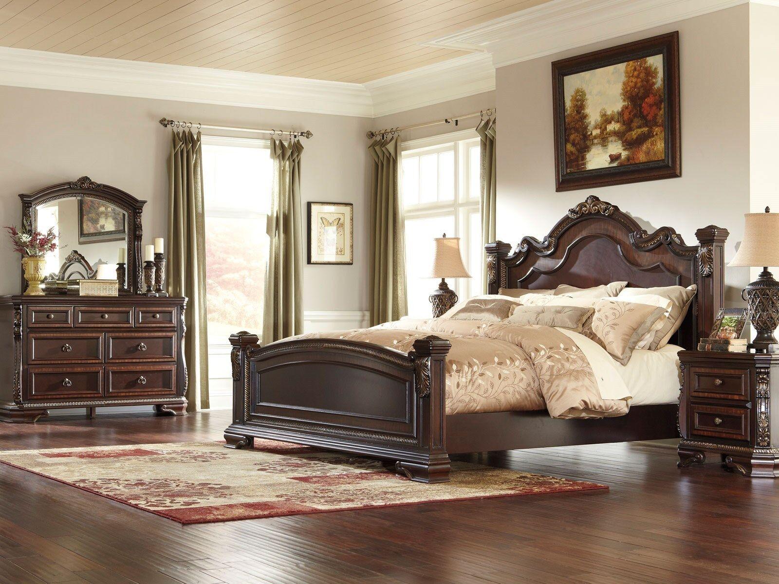 Traditional King Bedroom Furniture Sets