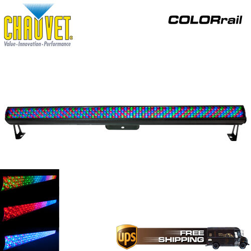 CHAUVET COLORRAIL LED RGB DMX WASH LIGHT UP-LIGHT COLOR RAIL LIGHTING EFFECT in Musical Instruments & Gear, Stage Lighting & Effects, Stage Lighting: Single Units | eBay