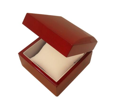 CHERRY WOOD BANGLE / WATCH BOX in Jewelry & Watches, Jewelry Boxes & Organizers, Jewelry Boxes | eBay