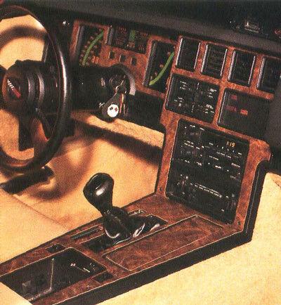 CHEVROLET CHEVY CORVETTE C4 C 4 INTERIOR WOOD DASH TRIM KIT 1986 1987