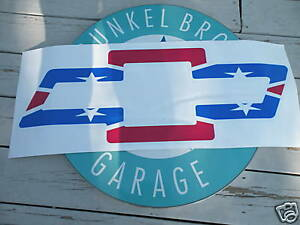 Chevy Bowtie Rebel Flag http://www.ebay.com/itm/CHEVY-BOWTIE-REBEL-REDNECK-FLAG-VINYL-DECAL-LARGE-/380335109993