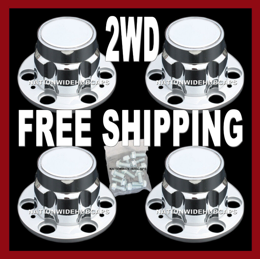 Chevy GMC 4x2 2WD 4x4 6 Lug 15x8 15 Truck Rally Hub Caps Wheel Cover