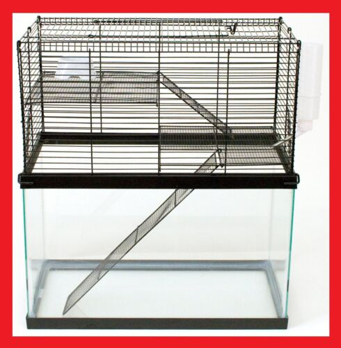 CHEW PROOF 3 LEVEL CAGE FOR YOUR 10 GALLON TANK HAMSTERS & MICE & GERBILS, MOUSE in Pet Supplies, Small Animal Supplies | eBay