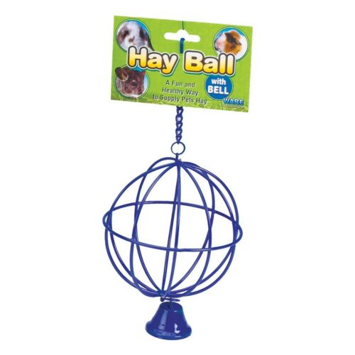 CHEW PROOF HAY BALL AND BELL FEEDER FOR RABBIT GUINEA PIG FERRET FEED FOOD RACK in Pet Supplies, Small Animal Supplies | eBay