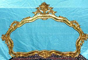Chiesina cornice per quadri specchio specchiera foglia oro ebay - Specchio cornice oro ...