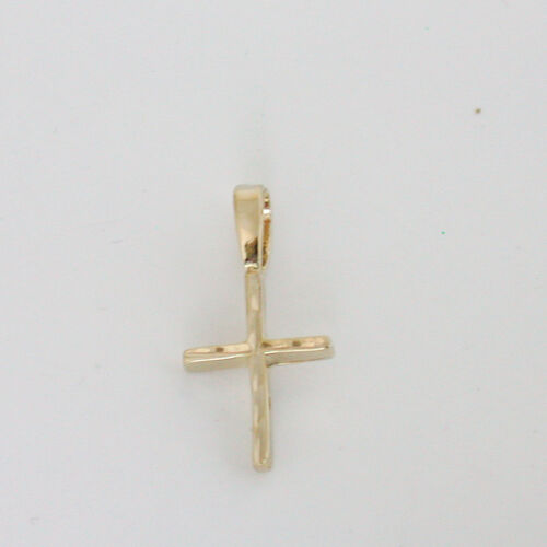 CHILDREN'S / INFANT SMALL 18K GOLD EP CROSS CRUCIFIX PENDANT in Jewelry & Watches, Children's Jewelry, Necklaces & Pendants | eBay