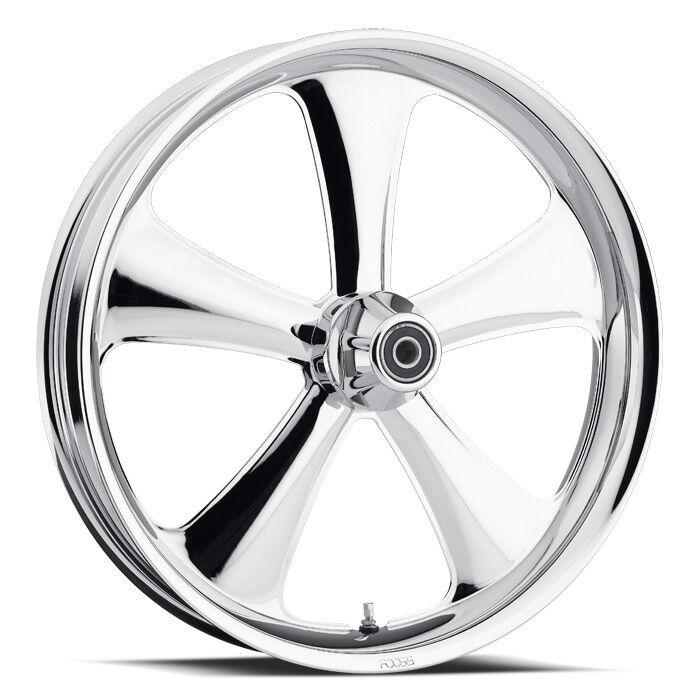 Chip FOOSE Custom Rims 21 Chrome Wheel Set for Harley