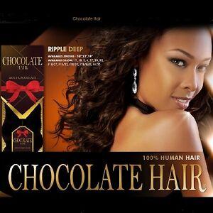 Chocolate Hair Wet N Wavy Weave 23