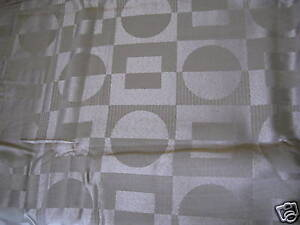 Circles Squares Taupe Mocha Fabric Shower Curtain New | eBay
