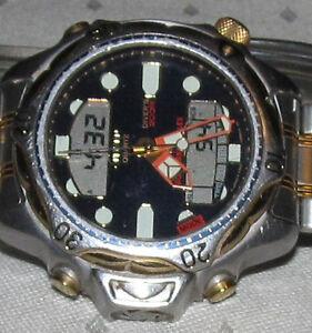 Citizen promaster aqualand duplex ss bracelet ana digi for Watch duplex free online