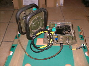 CLANSMAN-MILITARY-L-ROVER-AUDIO-KIT-AMP-SPEAKER-CABLES-FFR-L-R-COMMS-TRUCKS-etc
