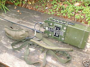 CLANSMAN-MILITARY-UK-RT-350-PRC350-MANPACK-WORKING-SET