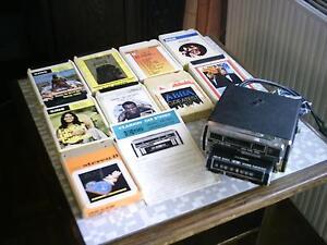CLARION CAR STEREO für 8-Spur-Tonbandkassetten+9 Kassetten Radiokas. aus 70ern - Freilassing, Deutschland - CLARION CAR STEREO für 8-Spur-Tonbandkassetten+9 Kassetten Radiokas. aus 70ern - Freilassing, Deutschland