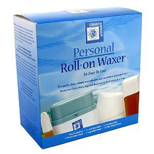 Clean Easy 245010 Personal Roll On Waxer Quick Simple Way