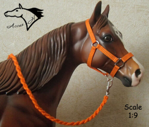 CM/Custom Orange HALTER for trad Breyer,Peter Stone,Resin model horse by Accue-H in Collectibles, Animals, Horses: Model Horses | eBay