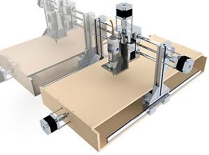 cnc portalfr se bauanleitung bauplan fr se low cost 3d drucker printer ebay. Black Bedroom Furniture Sets. Home Design Ideas