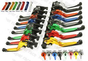 CNC-verstell-verlaenger-klappbare-Brems-Kupplungshebel-fuer-695-MONSTER-2007-2008