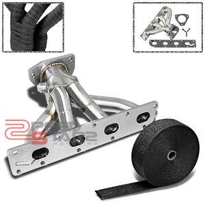 Exhaust Heat Wrap >> Cobalt HHR ion 2 2 2 4 Non Turbo Ecotec Stainless Exhaust Header Heat Wrap | eBay
