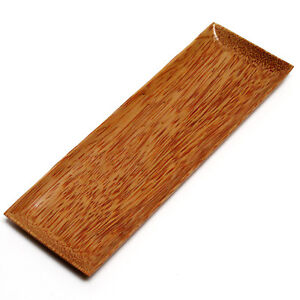 Coco wood long serving tray food condiment canapes 27cm for Canape serving platters