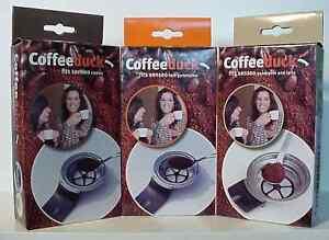 coffeeduck f r senseo dauerfilter padhalter kaffeepads ebay. Black Bedroom Furniture Sets. Home Design Ideas