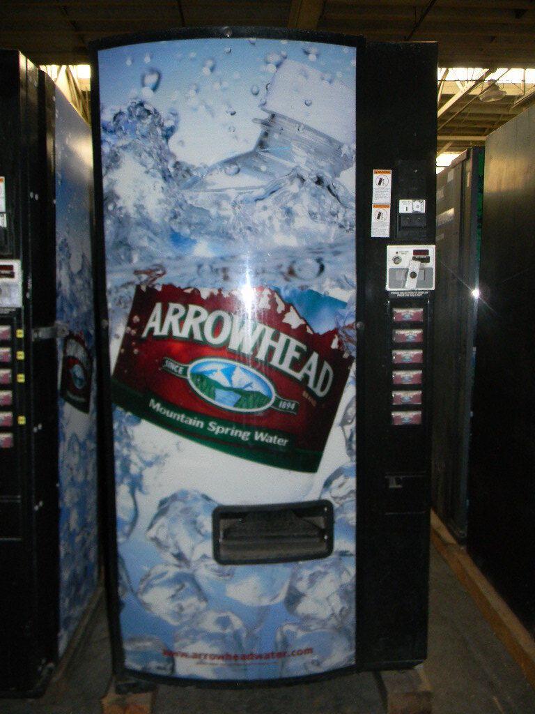 COKE PEPSI SODA POP ARROWHEAD WATER CAN BOTTLE VENDING MACHINE DIXIE