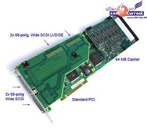 COMPAQ-SMARTARRAY-3200-2CH-PCI-LVD-SE-340855-001-HDD-ARRAY-SCSI-RAID-CONTROLLER