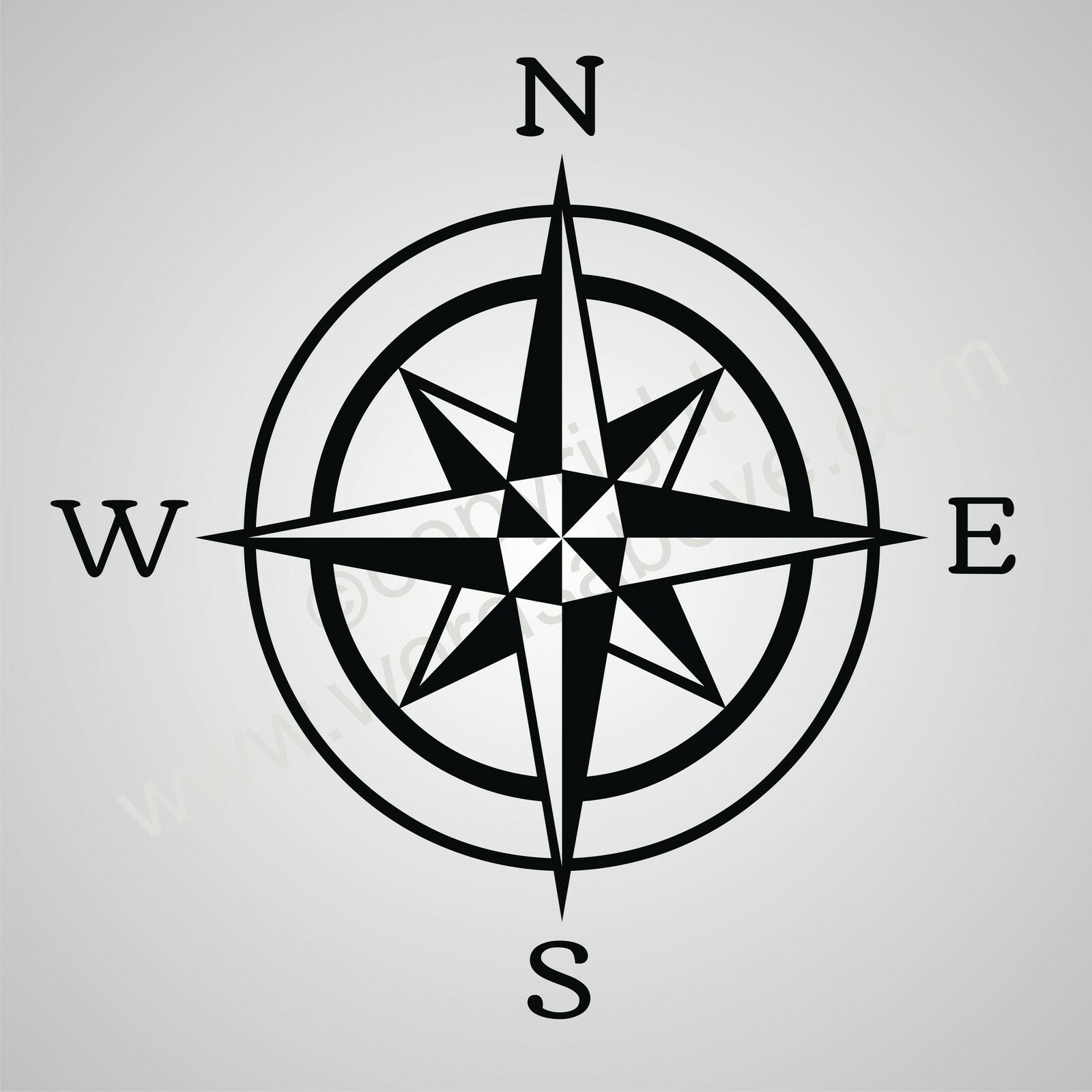 Quotes Wall Sticker Compass Rose Drawings With Quotes Quotesgram