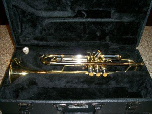 CONN INTERNATIONAL 201BY TRUMPET WITH CASE in Musical Instruments & Gear, Brass, Trumpet & Cornet | eBay