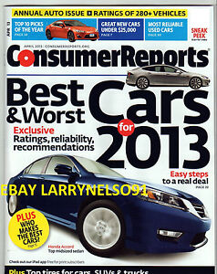 CONSUMER-REPORTS-APRIL-2013-BEST-WORST-CARS-ANNUAL-AUTO-ISSUE-TIRES