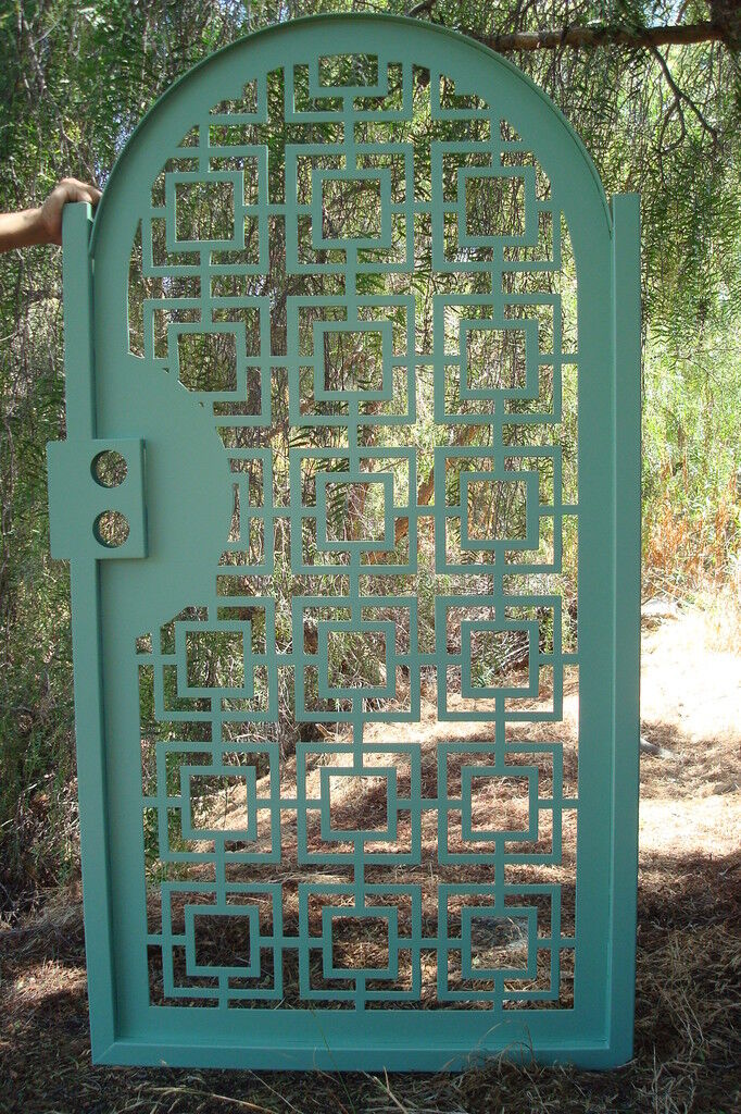 Gate on Sale Discount Decorative Art Iron Garden Modern Patio