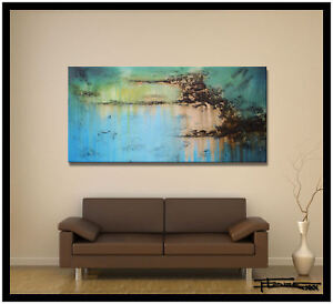 CONTEMPORARY-MODERN-ABSTRACT-PAINTING-CANVAS-WALL-ART