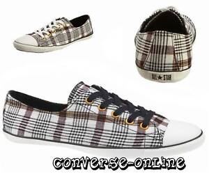 CONVERSE-All-Star-LIGHT-OX-PUNK-PLAID-Trainer-UK-SIZE-7