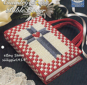 how to make a cross stitch book cover