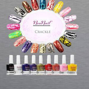 CRACKLE-10ml-Nagellack-Crackling-splittereffekt-und-Unterlack-4-1-Gratis-Naegel