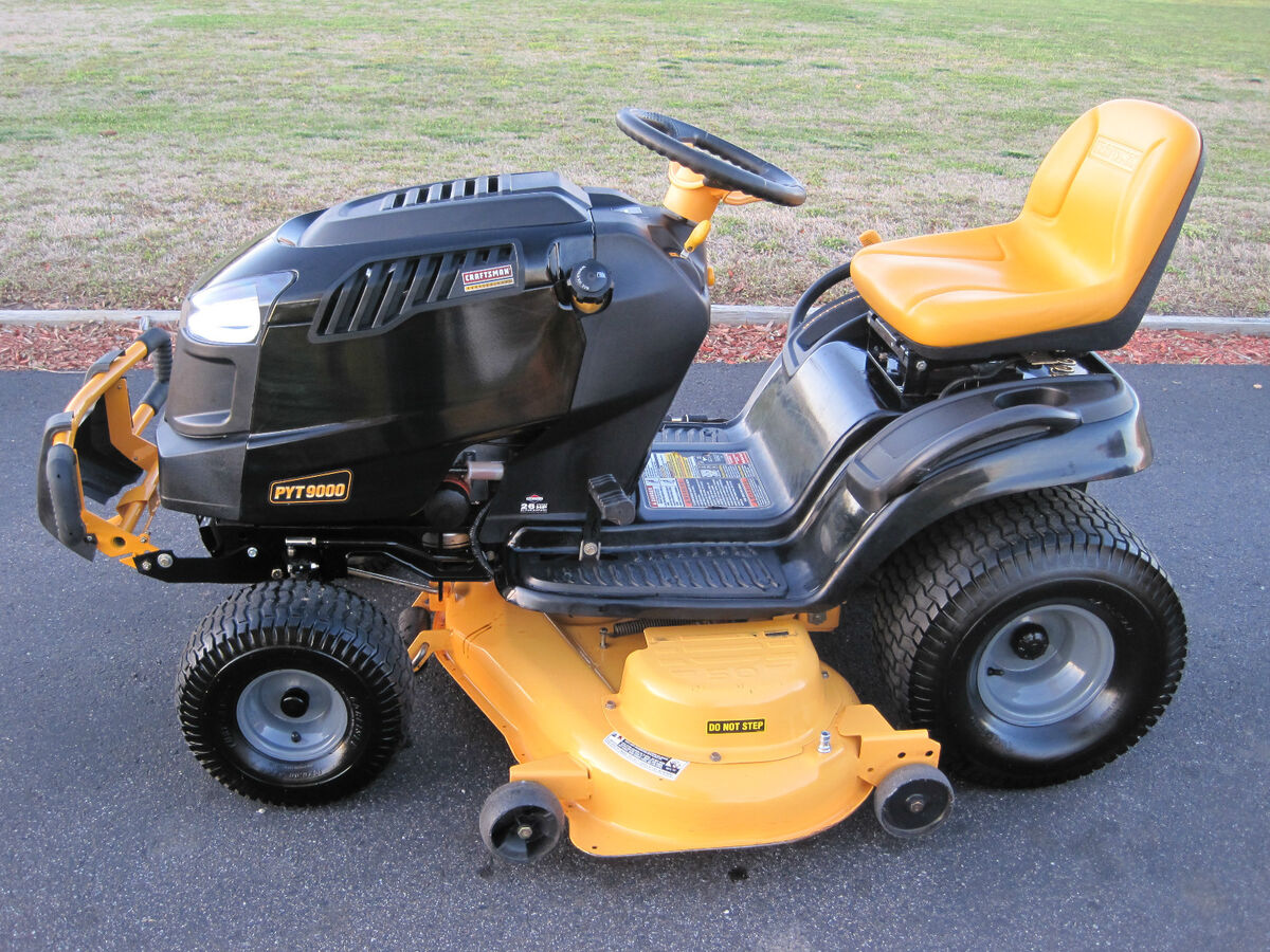 Craftsman Pyt 9000 Riding Lawn Mower Tractor 26 Hp V Twin