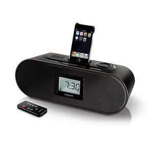 CREATIVE-D160-IPOD-IPHONE4-4S-Iphone-3-3GS-DOCKING-LAUTSPRECHER-ALARM-FM-RADIO