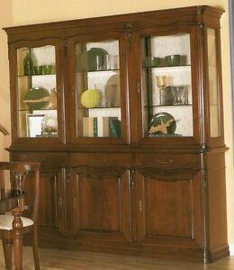 Credenza credenze vetrina vetrine cucine cucina arte povera classica soggiorno ebay - Vetrina per cucina ...