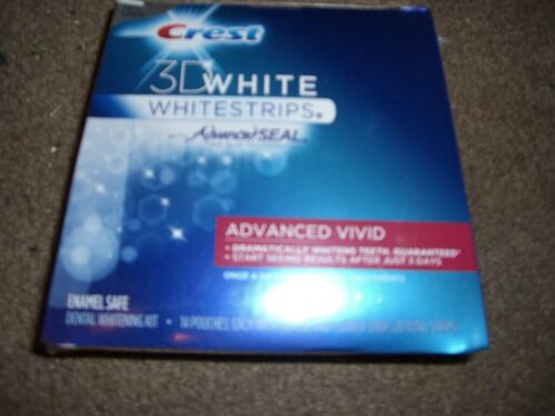 CREST 3D WHITE ADVANCED VIVID WHITESTRIPS JULY/2013 overseas buyers welcome in Health & Beauty, Oral Care, Whitening | eBay