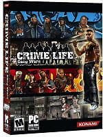 Crime Life Gang Wars Konami Pc Gangster Game New In Box