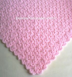 Easy Crochet Baby Blanket Pictures - About